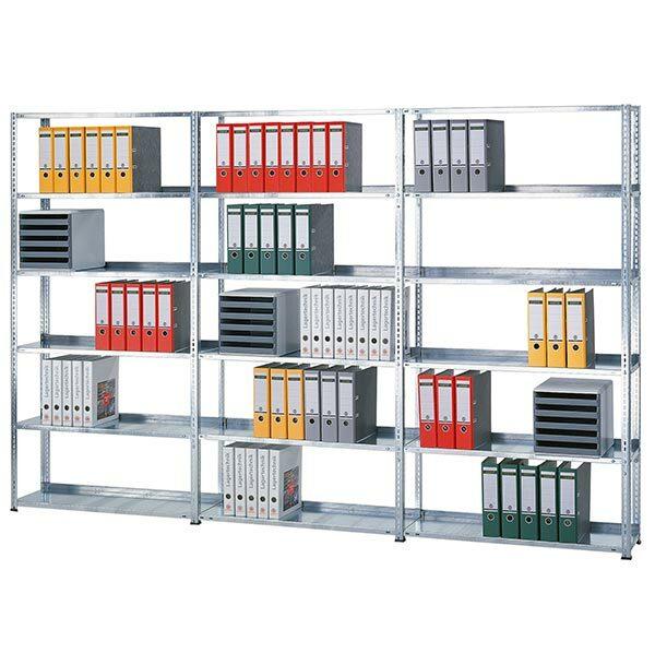 Büroregale - Schraubsystem
