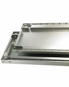 MULTIplus250 Fachboden, Breite 1000mm, Tiefe 400mm, RAL 7035 lichtgrau