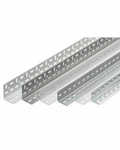 Winkelprofil, H1800xB35xT35mm, RAL 7035 lichtgrau