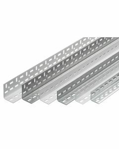 Winkelprofil, H2000xB35xT35mm, RAL 7035 lichtgrau