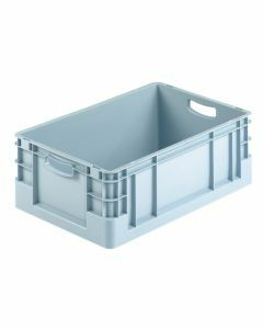 Euro-Stapelkasten, H120xB400xT600 mm, grau