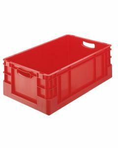 Euro-Stapelkasten, H420xB400xT600 mm, rot