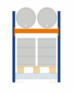 Fassregal - für stehende und liegende Lagerung, Grundregal