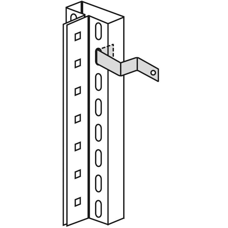 Wandbefestigung horizontale Ausführung Art.-Nr.: 12699