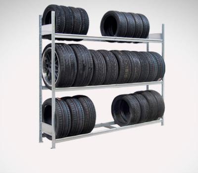 Grossfachreifenregale Reifenlager