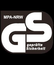 GS geprüfte Sicherheit